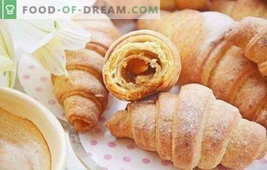 Bagels with jam - ¡el sabor de la infancia! Recetas sencillas y originales para rosquillas con mermelada de mantequilla de mantequilla, levadura y cuajada