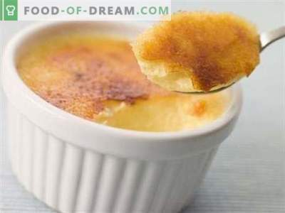 Pastel de queso - las mejores recetas. Cómo cocinar correctamente y sabroso pudín de queso cottage.