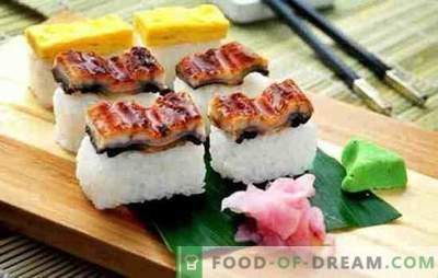 Secretos de la cocina oriental: cómo cocinar arroz para panecillos. ¿Cuál es la diferencia entre los rollos y el sushi, cómo cocinar el arroz para el sushi