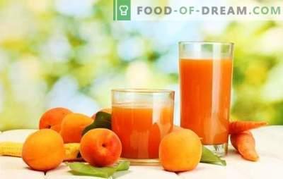 Jugo de albaricoque para el invierno: ¡bebida soleada! Diferentes maneras de cosechar jugo de albaricoque para el invierno en casa