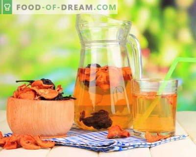 Compote van gedroogde vruchten - de beste recepten. Hoe goed en lekker compote van gedroogd fruit.