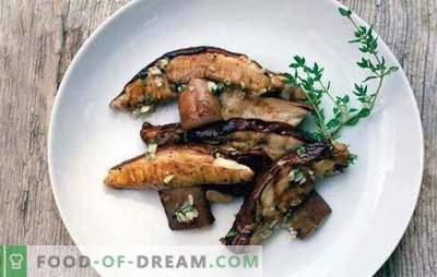 Quanto cozinhar cogumelos e como fazê-lo corretamente? Como cozinhar cogumelos secos e congelados?