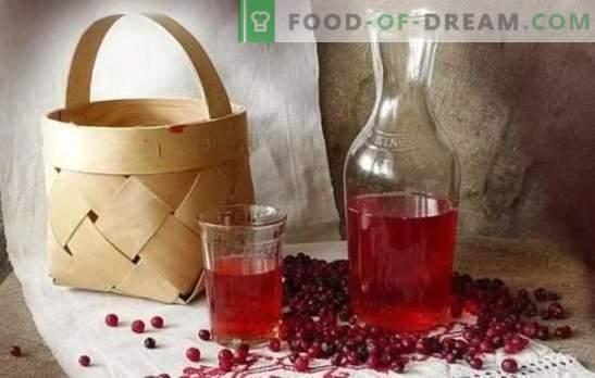 Tintura de lingonberry en casa: secretos de cocina. Sabroso licor casero de lingonberry en vodka, alcohol, coñac