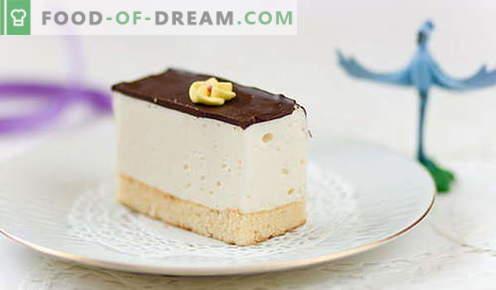 Cake Bird's milk - las mejores recetas. Cómo cocinar correctamente y sabroso en casa pastel Leche de ave.
