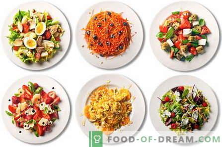 Las mejores recetas son las ensaladas rápidas, fáciles y sencillas. Cómo hacer una ensalada ligera en cuestión de minutos.