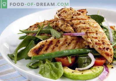 Pollo con aguacate - las mejores recetas. Cómo apropiadamente y sabroso pollo con aguacate.