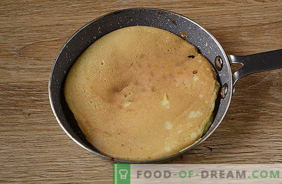 Panqueques con harina de maíz: un postre exuberante y hermoso en kéfir. Cómo cocinar tortitas de maíz: foto-receta paso a paso