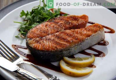 Losos zrezek - najboljši recepti. Kako pravilno in okusno kuhati lososno zrezek.