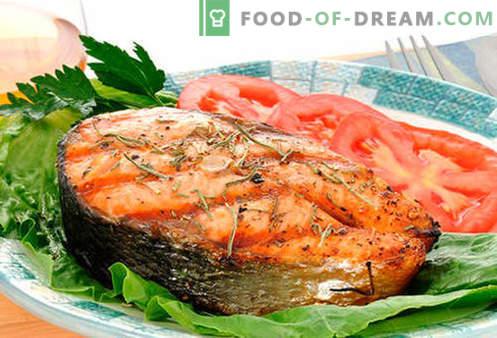 Filete de salmón - las mejores recetas. Cómo cocinar correctamente y sabroso el filete de salmón.