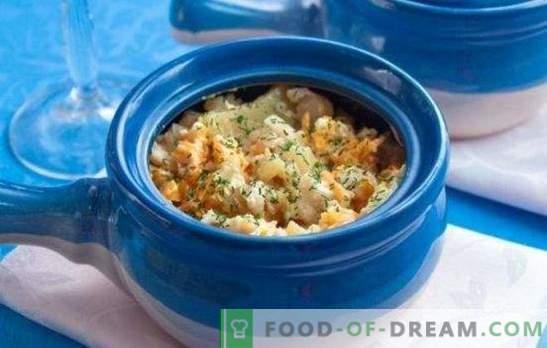 Pescado en maceta - hermoso, fragante, espectacular! Cocinar pescado en la olla en el horno de acuerdo con las mejores recetas probadas