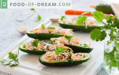 Ensalada con zanahoria y pepino coreanos: delicadeza picante. Las mejores recetas de la popular ensalada coreana de zanahoria y pepino