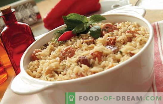 Qué cocinar el arroz con carne en el horno? Ideas para la ...