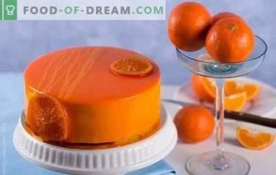 Cocinar con placer: pastel de chocolate y naranja. Recetas de tortas de naranja simples y complejas con chocolate y sin