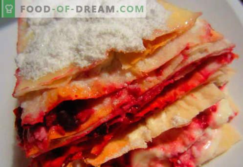 Lasaña en casa - las recetas correctas. Cómo cocinar lasaña de forma rápida y sabrosa en casa.