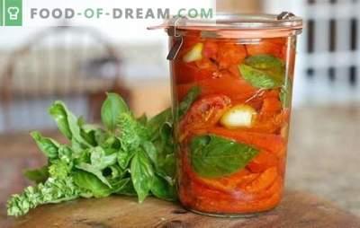 Tomates con vinagre para el invierno: 8 de las mejores recetas probadas. Cómo hacer una cosecha de tomates con vinagre para el invierno