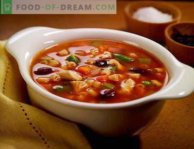 Sopa de solyanka - las mejores recetas. Cómo correctamente y sabrosa sopa de sopa.
