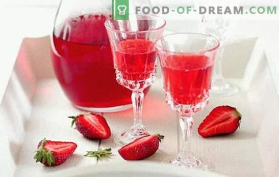 Licor de fresa en casa, ¡aparte de la competencia! Todas las sutilezas y recetas para hacer licor de fresa en casa