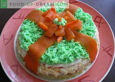Sałatki urodzinowe dla dzieci - pięć najlepszych receptur. Jak właściwie i smacznie przygotować urodzinowe sałatki dla dzieci.