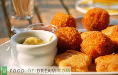 Nuggets en casa: ¡mucho más sabrosos que los comprados! Cualquiera que ame la comida rápida: recetas caseras de nuggets
