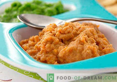 Puré de carne - las mejores recetas. Cómo cocinar adecuadamente y con delicadeza el puré de carne.