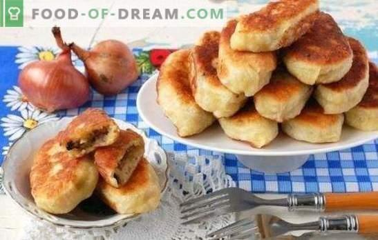 Empanadas con papas y champiñones - ¡El secreto de la abuela! Las mejores recetas para hacer empanadas con patatas y champiñones.