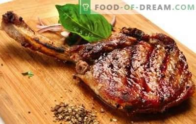 Cerdo en el hueso - recetas para la carne más deliciosa. Cómo cocinar carne de cerdo en el hueso en el horno, en la olla eléctrica y en la estufa