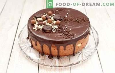 Pastel de brownie es todo chocolate. Recetas sencillas de pastel de brownie: con cerezas, miel, nueces, ciruelas, en el horno y una olla de cocción lenta