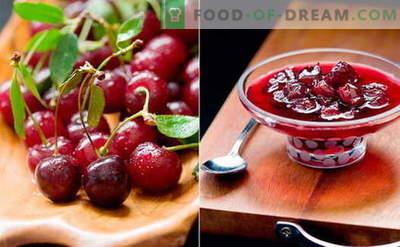 Mermelada de cereza: cómo cocinar mermelada de cereza