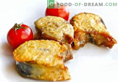 Smażona makrela - najlepsze przepisy. Jak prawidłowo i smacznie upiec pieczeń makreli.