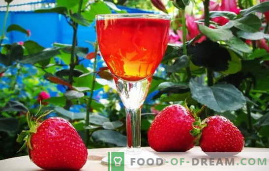 Bodega propia: tintura de fresa en vodka en casa. Secretos de la cocina tintura de fresa en vodka