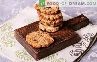 Recetas de galletas caseras - ¡rápido y sabroso! Chocolate, vainilla, nuez, miel y otros tipos de galletas rápidas