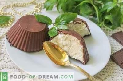 Cuajada de chocolate glaseada: ¡una delicia favorita de la infancia!