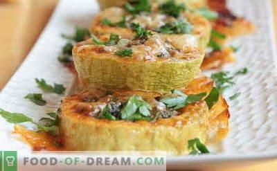 Calabacines Rellenos - Las mejores recetas. Todo sobre cocinar calabacines rellenos.