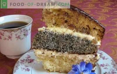 Three-layer cake