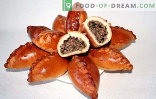 Empanadas con hígado - un plato ruso nutritivo. Recetas para diferentes pasteles con hígado: en la sartén y en el horno, con la adición de arroz, papas, huevos