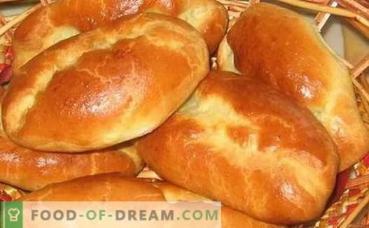Empanadas con repollo - las mejores recetas. Cómo cocinar correctamente y sabroso las empanadas con repollo.