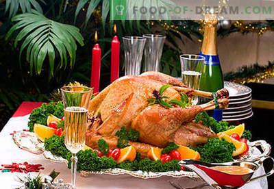 Los platos en la mesa de Año Nuevo son las mejores recetas. Cómo hacer que la cena de Nochevieja sea realmente festiva.