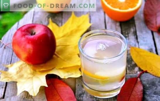 Compota de manzanas y naranjas - una deliciosa bebida con toques de exóticos. Una selección de las mejores compotas de manzanas y naranjas