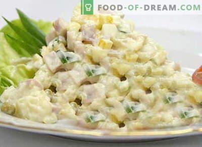 Lechuga iceberg - las mejores recetas. Cómo cocinar correctamente y sabrosa la ensalada de iceberg.
