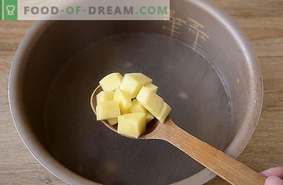 Sopa con repollo fresco en una olla de cocción lenta: ¡rápido, fácil, sabroso! Receta fotográfica paso a paso del autor para cocinar repollo a partir de repollo fresco en una olla de cocción lenta
