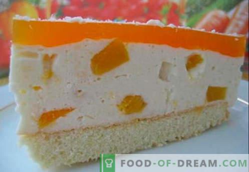 Soufflé de crema - las mejores recetas. Cómo cocinar rápidamente y sabroso soufflé de crema.