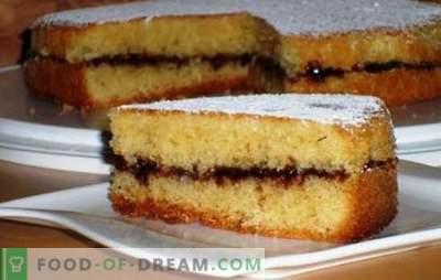 Ciasto z dżemem w piekarniku - proste i smaczne! Warianty wykonania ciasta i nadzienia do ciasta z dżemem w piekarniku