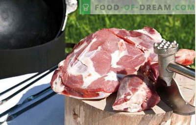Las mejores recetas para cocinar carne fragante en un caldero, los secretos de agregar especias. Carne en un caldero: cerdo, cordero, cordero