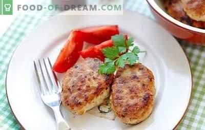 ¡Las chuletas de cerdo y pollo se pueden cocinar en la estufa y en la sartén! Recetas para chuletas de cerdo y pollo jugosas y rubicundas