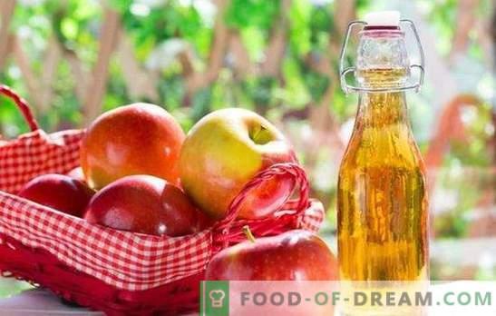 Tintura ámbar de manzanas en casa. Las mejores recetas para la tintura de manzanas en casa y trucos de cocina