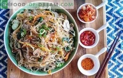 Receta paso a paso de Funchoza: la magia de la cocina oriental. Funchoza: receta paso a paso para un refrigerio, plato principal, ensalada