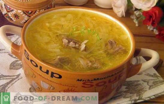 Sopa agridulce de repollo: ¡prepara la sopa más deliciosa! Recetas, secretos y complejidades de cocinar col agridulce col agridulce