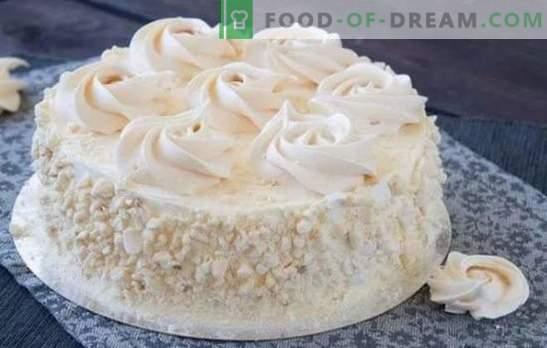 Pastel de merengue en casa: ¡un postre increíblemente delicioso! Las mejores recetas de pastel casero de merengue
