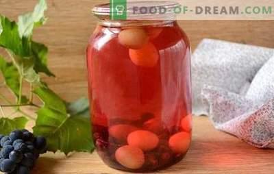 Compota de uvas: ¿cómo cocinar correctamente? Receta fotográfica paso a paso para una compota simple de uvas