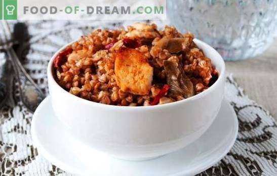 El alforfón con pollo en una olla de cocción lenta es la mejor manera de preparar un delicioso almuerzo. Una selección de recetas de alforfón con pollo en un multicooker